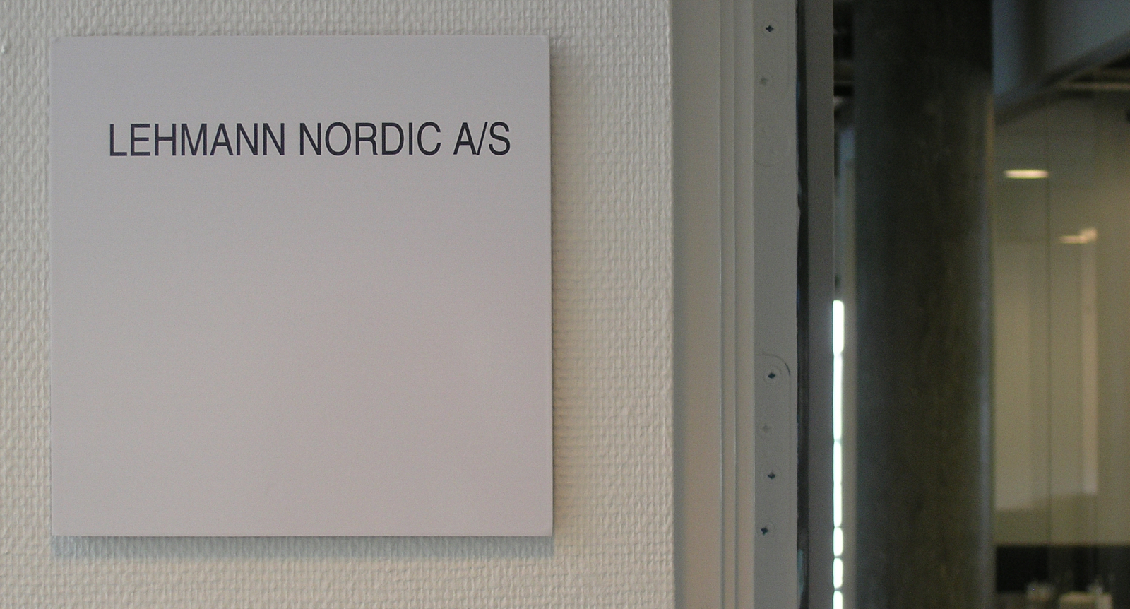 Lehmann-Nordic (skilt)