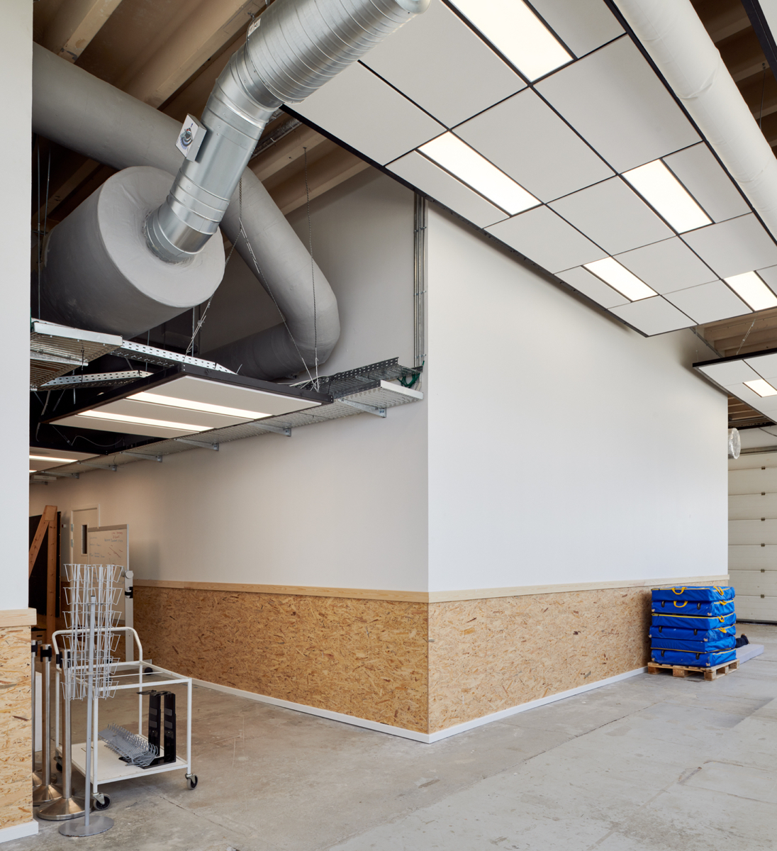 Hal C – Next Uddannelse København (gangareal, ventilation)