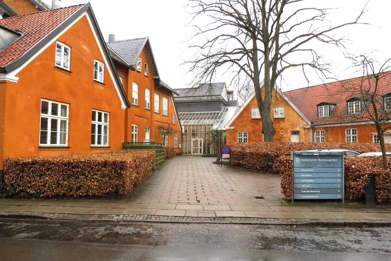 Mantziusgården (bygningen udefra)