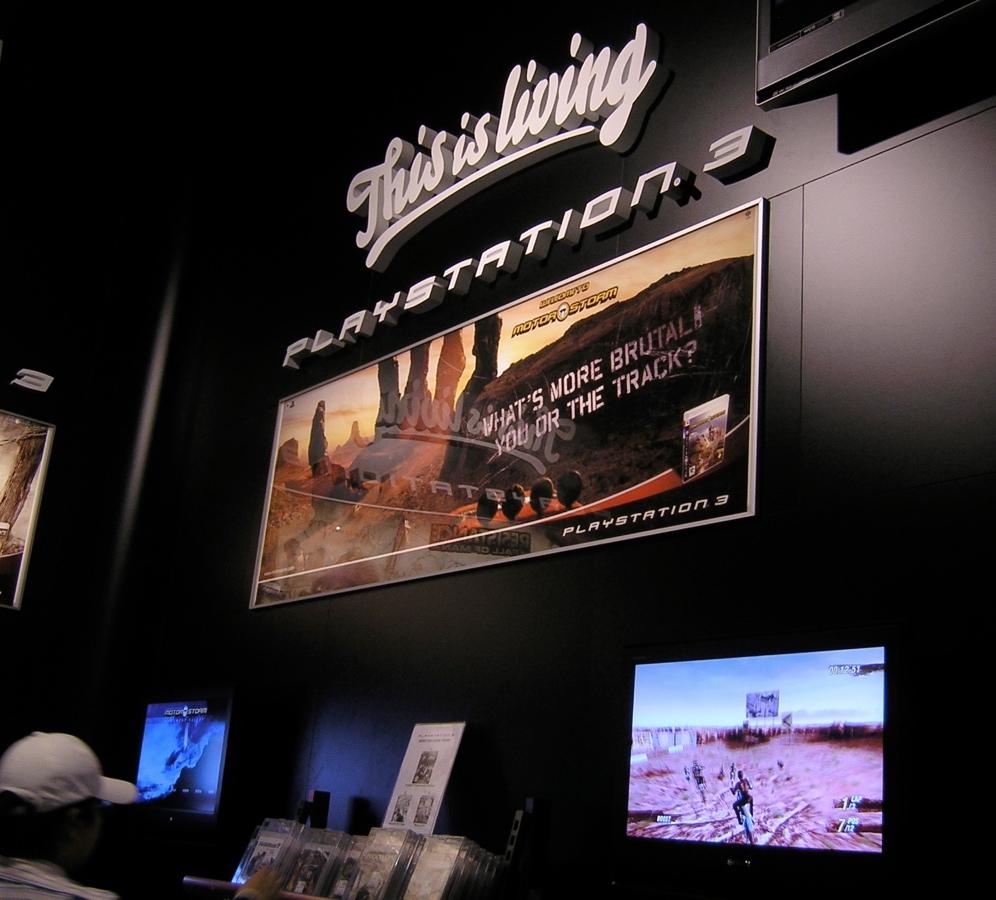 PlayStation 3 Danmark (game room), Fona, Strøget