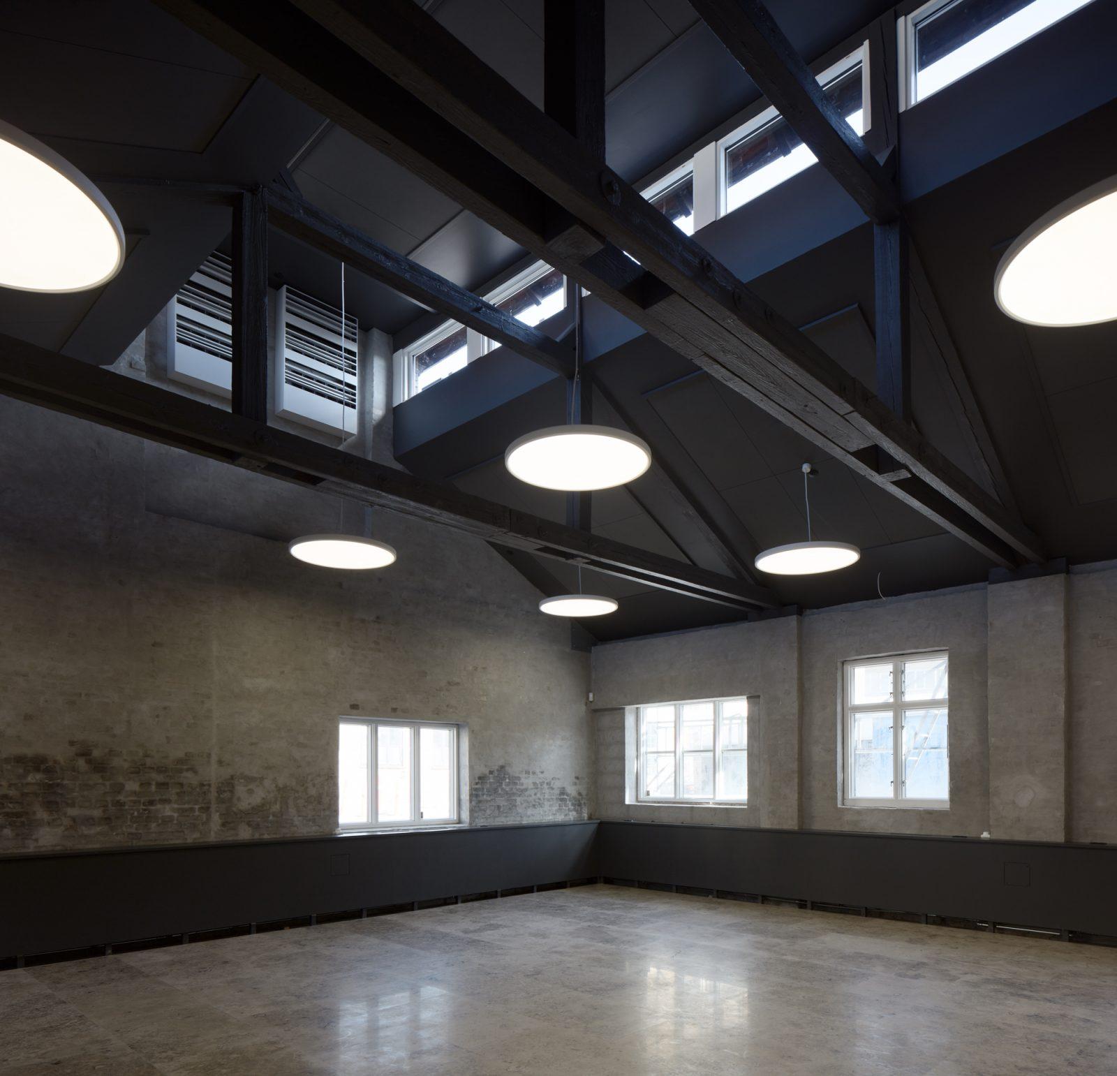 Ombygning af industribygninger til kontorer: Dortheavej 10 og 12 (kantine)