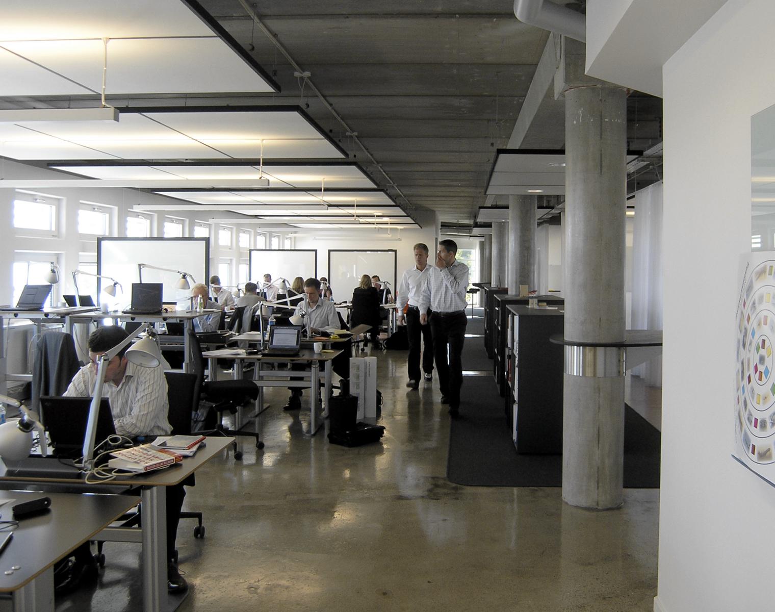 Implement Consulting Group, Slotsmarken, Hørsholm (åbent kontorlandskab)