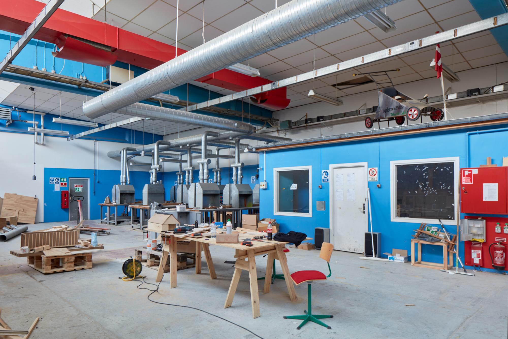 Hal C – Next Uddannelse København (ventilation)